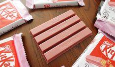 [Werbung] KitKat made with Ruby cocoa beans - von Nestle ; #mybreak - Knusperwaffel in Schokoladenkuvertüre (68,2%)