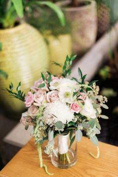 Botanical Garden Wedding with Glass Ceilings | Ruffled