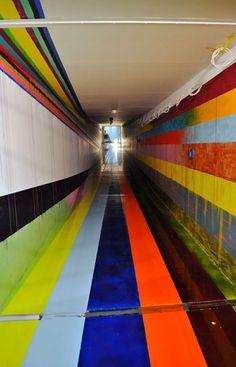 Markus Linnenbrink's installation commission at JVA/Prison in Duesseldorf Rath, Germany (2011)