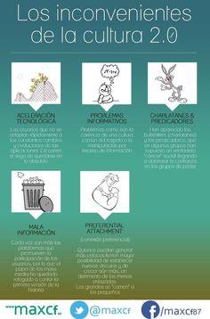 Inconvenientes de la cultura 2.0 #infografia