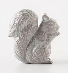 Squirrel knob from Anthropologie