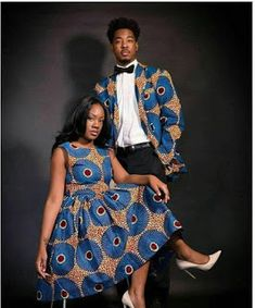 Ankara styles Coordinated Pieces 2018 For Lovely Couples