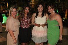 Patricia Lorraine, Alexandra Rodríguez, Yaska Crespo y Grace Martínez.