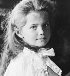 Grand Duchess Marie Nicolaevna Romanova, third child of Tsar Nicholas II and Empress Alexandra: Born 1899 -- Died 1918