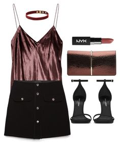 """""""Untitled #4218"""" by lilaclynn ❤ liked on Polyvore featuring T By Alexander Wang, Zara, Yves Saint Laurent, Nina Ricci, YSL, AlexanderWang, zara, saintlaurent and yvessaintlaurent"""