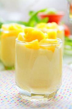 Mousse à la mangue facile                                                                                                                                                      Plus