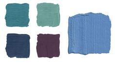 Color Scheme Inspiration: Peacock Colors