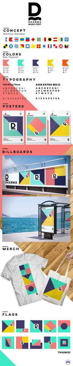 DHARMA ART & MUSIC FESTIVAL on Behance
