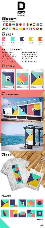 DHARMA ART & MUSIC FESTIVAL on Behance