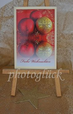 Weihnachten - Karte Weihnachten Weihnachtskarte 30 - ein Designerstück von Gabriele-Jentsch bei DaWanda