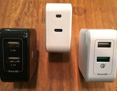 Tired of all the wall outlets in your house taken over by USB chargers? The iClever dual-USB 3.0 charger line (and USB-C) solve that problem neatly...