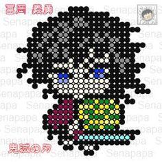 Easy Perler Bead Patterns, Perler Bead Templates, Diy Perler Beads, Easy Pixel Art, Pixel Art Grid, Cross Stitch Art, Cross Stitch Patterns, Anime Crafts, Iron Beads