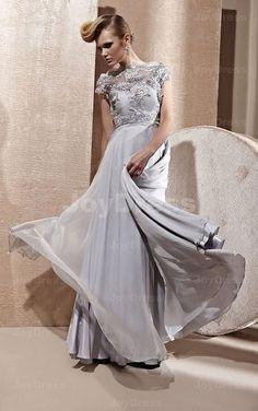 Stereoscopic Floral A-line Off The Shoulder Floor-length Dress - Joydress.co.uk - 221 - pro - p12c0101270