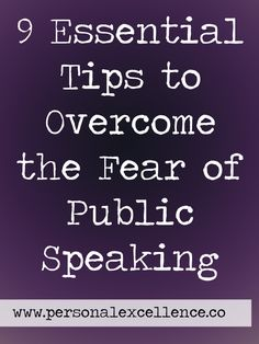 You must have heard of how public speaking is the number one fear for people according to a well-known survey and death ranks as number two. So people would rather die than deliver an eulogy. Here are nine tips that you can apply before, during and after the speech to get those nasty butterflies to fly in formation. Read more: http://personalexcellence.co/blog/overcome-fear-of-public-speaking/ #emotionalmastery #emotions #feelings #fear #publicspeaking #speeches #deliveringspeeches