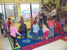 Dancing classes - teaching the children to learn different dance steps/different types of music