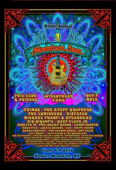 Gov't Mule [06-08-2013] 9th Annual Mountain Jam, Hunter, NY »