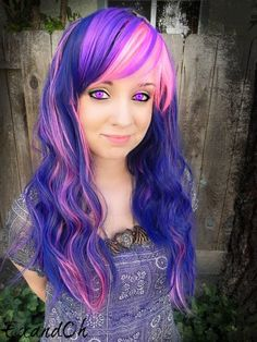 twilight sparkle hair dye - Google Search