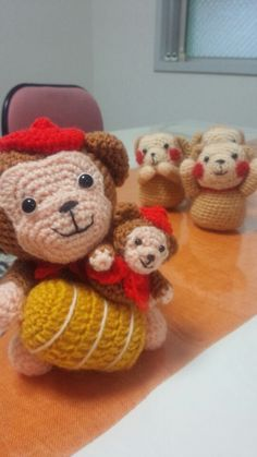 ハマナカの干支編みぐるみ編みました
