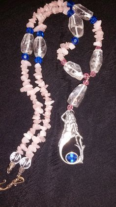 Lasirene Mermaid Sterling Silver Beaded necklace by MotherMystic
