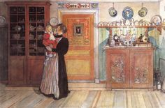Carl Larsson - Between Christmas And New Year Catalog