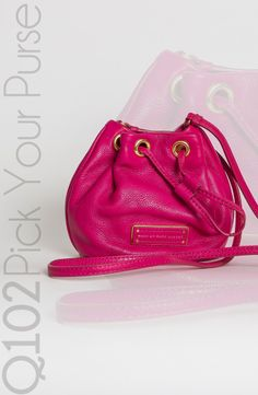 Marc by Marc Jacobs - Fuchsia Mini Bag.   Go to wkrq.com to find out how to play Q102's Pick Your Purse!