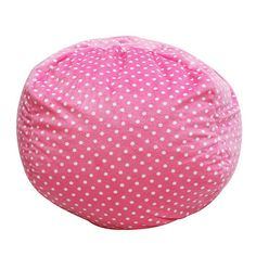 Bean Bag Chair Color: Pink - http://delanico.com/bean-bag-chairs/bean-bag-chair-color-pink-533831620/