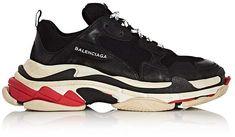 Balenciaga Men's Triple S Platform Sneakers Balenciaga Sneakers, Balenciaga Mens, Men's Footwear, Well Dressed Men, Men S Shoes, Mens Suits, Fashion Beauty, Mens Fashion, Platform Sneakers