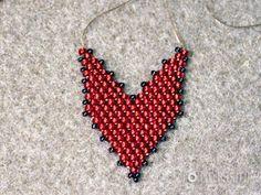 Tutorial- Russian Leaf- listek z koralików Beading Projects, Beading Tutorials, Beaded Jewelry Patterns, Beading Patterns, Beaded Earrings, Crochet Earrings, Bead Jewellery, Peyote Stitch, Bead Art