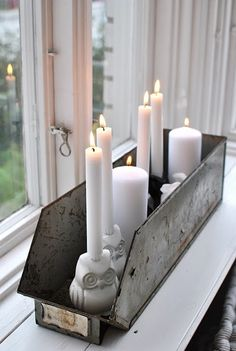 Cute candle decor for Candle Impressions Flameless Tapers & Pillars