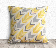 Pillow Cover, Pillow Case, Cushion Cover, Linen Pillow Cover 18x18 - Printed Geometric - 018 on Etsy, $16.44 AUD