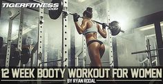 This may be the best butt workout on the planet. Build a better booty in only 12 short weeks using this 4 day per week specialty workout program.