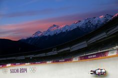 Marek Solcansky and Karol Stuchlak of Slovakia make a run during the Men's Luge Doubles (c) Getty Images Luge, Winter Olympics, Olympic Games, The Man, Sports, Photography, Winter Olympic Games, Hs Sports, Photograph