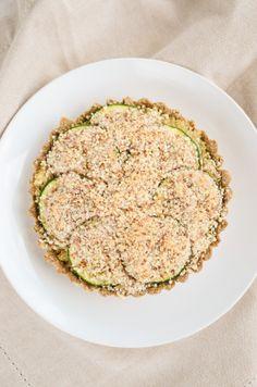 Vegan Zucchini Tarts- when I have tons of squash in my summer garden