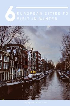 The winter can be a great time to travel and save money on a travel budget. Read more about the top European cities to visit in winter in this helpful guide. babies flight hotel restaurant destinations ideas tips Road Trip Europe, Europe Travel Guide, Budget Travel, Travel Guides, Travel Abroad, Winter Travel, Holiday Travel, Christmas Travel, European Destination