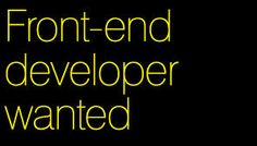 Front-End Developer - MVP Innovation