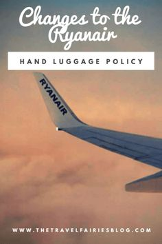 Changes to the Ryanair hand luggage policy - 2019 update Packing Tips For Vacation, Travel Checklist, Travel Advice, Budget Travel, Travel Guides, Travel Tips, Travel Hacks, Packing Lists, Travel Packing