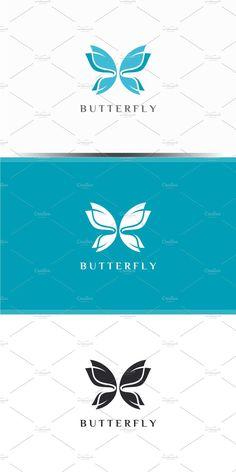 Butterfly Logo, Butterfly Design, Font Names, Text Color, Logo Templates, Adobe Illustrator, Wings, Logo Design, Design Ideas