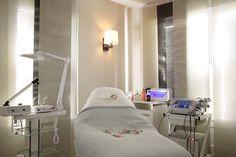 Derma-Luxe Custom Skin Care . 3077 E Shadowlawn Ave NE . Atlanta . GA . 30305 || day spa || massage therapy room || esthetician room || aesthetician room || esthetics || skin care || body waxing || hair removal || body scrub || body treatment room || Medical Spa || ThermaLipo treatments || IPL PhotoFacials || Permanent Makeup || LED light therapy