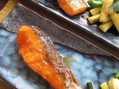 秋鮭の生姜焼き。の画像