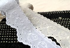 both side embroidered cotton lace by the yard width by cottonholic