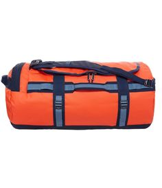 Lækre North Face Base Camp Duffel M, CWW2-DJE, Acrylic orange/Cool blue  Rejsetasker til Kufferter i luksus kvalitet