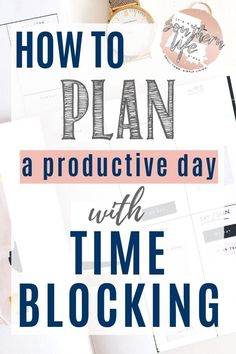 How to be highly productive every single day by using time blocking. Plan a productive day when you schedule it by time blocking. Productivity and time management tips begin with you block schedule your day to keep yourself organized without a to do list. Time Management Strategies, Time Management Skills, Block Scheduling, Productivity Apps, Productivity Management, Increase Productivity, Business Management, Day Schedule, Productive Day