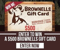 ENDS TODAY! Wide Open Spaces http://virl.io/KsFRrirG win a $500 Brownells  gift card  (Gun parts & shooting accessories)  Enter the $500 Brownells Giveaway!