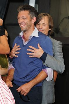 Viggo Mortensen touching Vincent Cassel. What more could you ask?