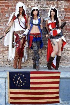 Assassins Creed Cosplay Girl