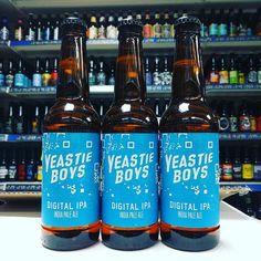 New beer. Digital IPA - 5.7% from @yeastieboysbeer in stock now