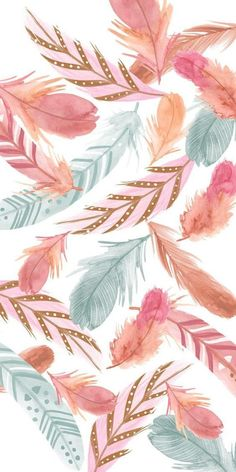Boho Feathers  - Phone Case (iPhone & Samsung)