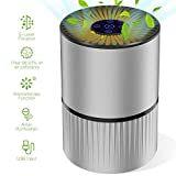 El #ionizador de #aire funciona como un acondicionador de aire normal, pero esparce partículas de ozono que se usan para purificar el aire y bajar los iones que son malos para nuestra salud. Y esta característica, que es la principal, no se puede olvidar. Usb, Noise Levels, Pet Dander, Hepa Filter, Air Pollution, Air Purifier, Allergies, Night Light, Cool Things To Buy