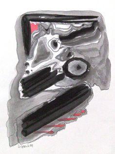 Sem titulo. Tinta da China sob papel. Dimensão: A3 p.v.p. 50€