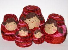 Nesting Dolls crochet pattern  :)